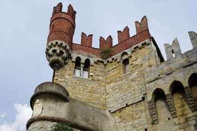 Смотровая башня замка