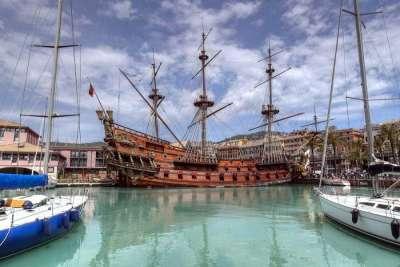 Старый порт Генуи