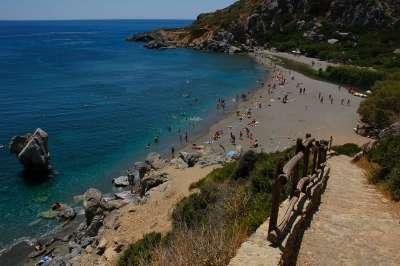 Пляж Превели