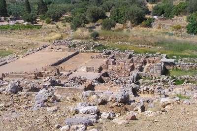 Руины Дворца в Закросе