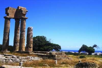 Руины Храма Аполлона