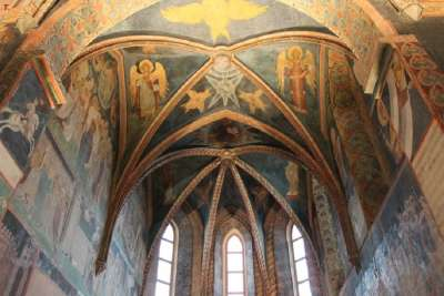 Фрески в Королевском замке