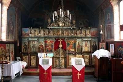 Гложенский монастырь внутри