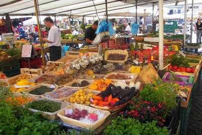 Рынок на Кампо-деи-Фьори