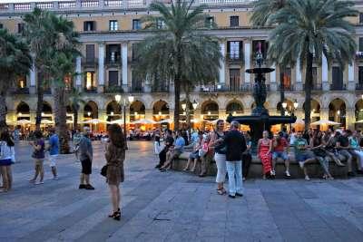 Вечер на Королевской площади