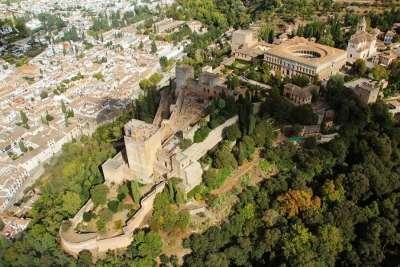 Вид на Альгамбру