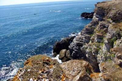 Вид на море из пещер Яйлата