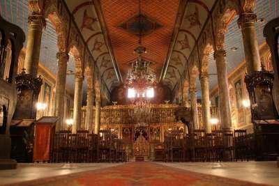 Внутреннее убранство Церкви Святой Троицы