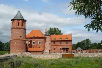 Дворец-крепость в Тыкоцине