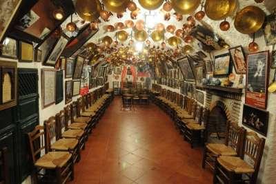 Зал музея фламенко Zambra