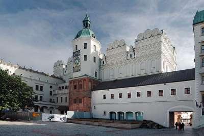 Замок поморских князей