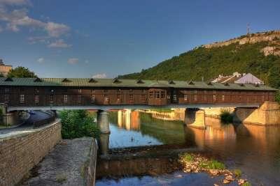 Крытый мост в Ловече