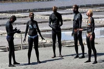 Лечебные грязи Поморийского озера