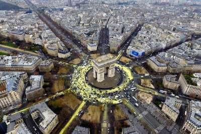 Площадь Звезды (ныне Площадь Шарля де Голля)