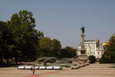Площадь Свободы в г. Русе. Болгария