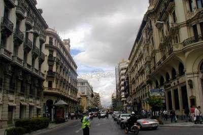 Улица Gran Vía de Colón