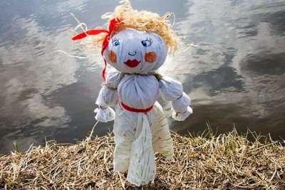 Чучело Можанны - славянской богини смерти и зимы