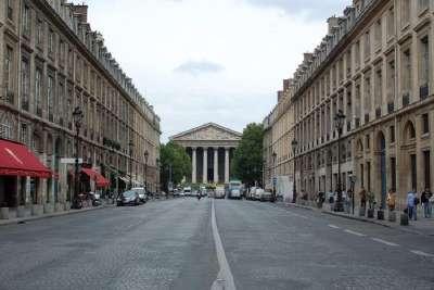 Королевская улица. Вид на церковь Мадлен