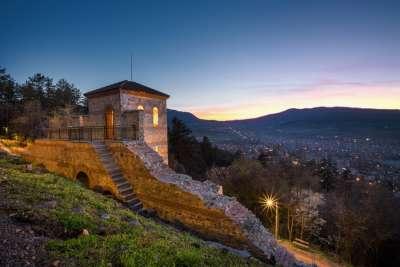 Остатки средневековой крепости Пауталия