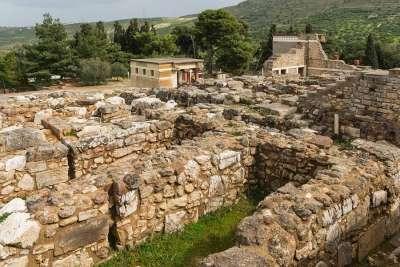 Раскопки дворца
