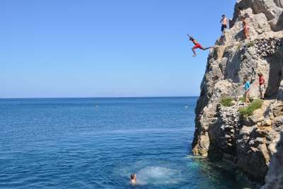 Скалы Санторини