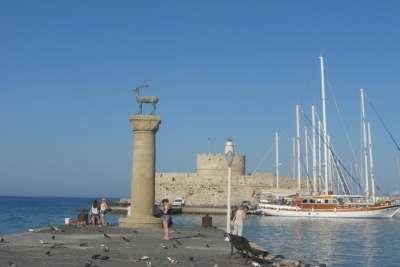 Торговый порт Родоса