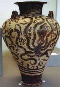 Ваза с осьминогами. XV век до н.э.