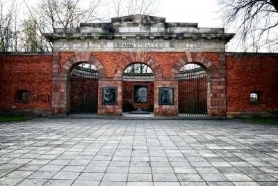 Вход в Варшавскую цитадель