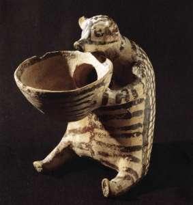 Зооморфный сосуд. Керамика. III тысячлетие до н.э.