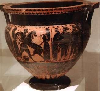 Керамическая чаша. VI в до н.э.