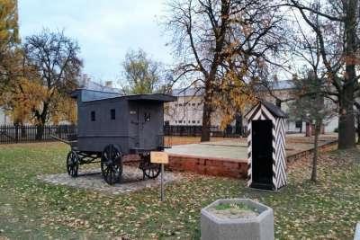 Кибитка для заключенных в Варшавской цитадели