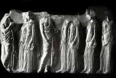 Работа Фидия в Парфеноне
