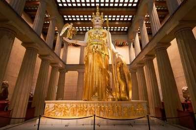 Статуя Афины-воительницы