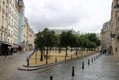 Треугольный вид площади