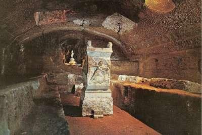 Алтарь храма Митры