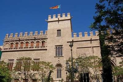 Биржа шелка в Валенсии