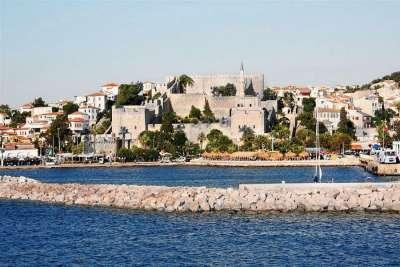 Крепость. Вид с моря