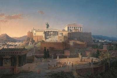 Афины во времена Писистрата