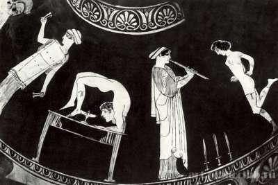 Картина Танцовщицы и акробатики