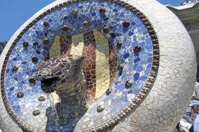 Медальон с головой змеи