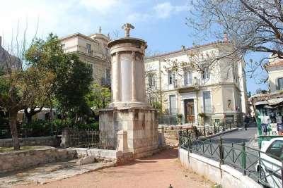 Памятник Лисистрату
