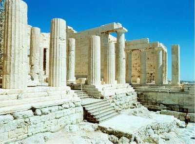 Пропилеи - ворота Акрополя