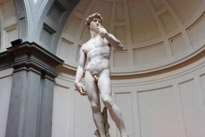 Статуя Давида работы Микеланджело