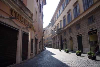 Улицы Рима вокруг Пантеона