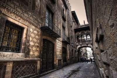 Здания готического квартала