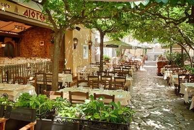 Кафе в Афинах