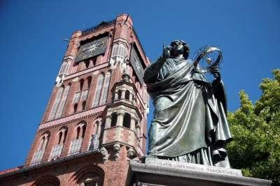 Памятник Копернику