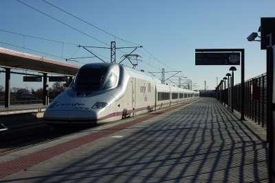 Высокоскоростной поезд Мадрид - Толедо