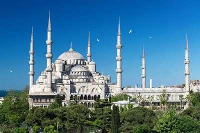 Голубая мечеть - символ Стамбула