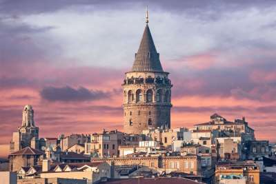 Достопримечательности Стамбула. Галатская башня